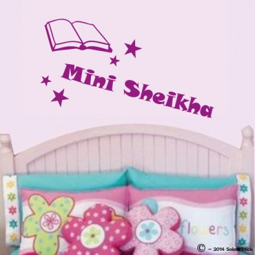 Sticker mini sheikha