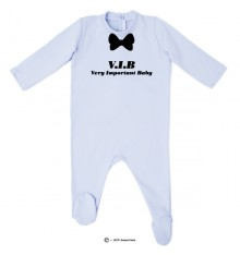 Pyjama bio personnalisable Very Important Baby