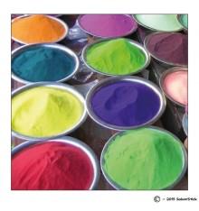 Magnet épices colorées