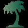 Sticker palmier 2