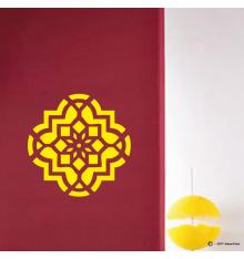 Sticker motif fleur orientale