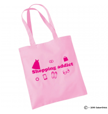 Shopping bag shopping addict