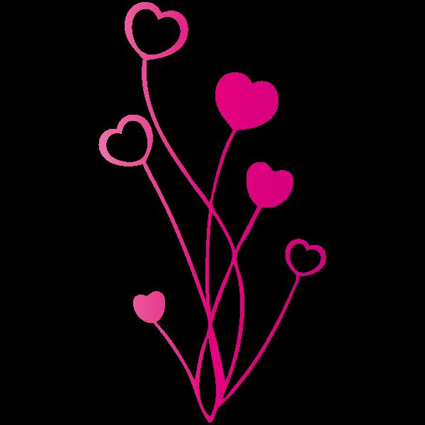 sticker-bouquet-de-coeur-