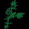 Sticker oiseau sur une branche
