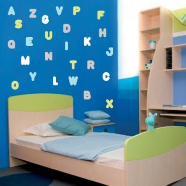 Stickers alphabet
