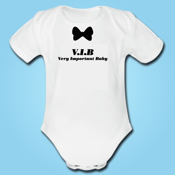 Body personnalisable Very Important Baby 75454baf30e