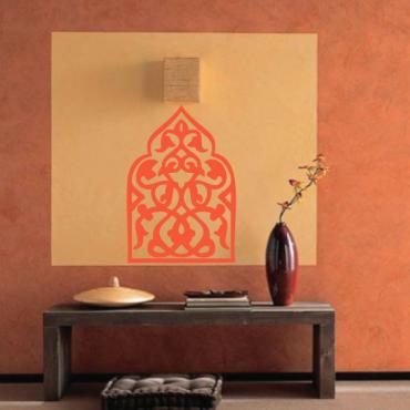 Sticker porte orientale design