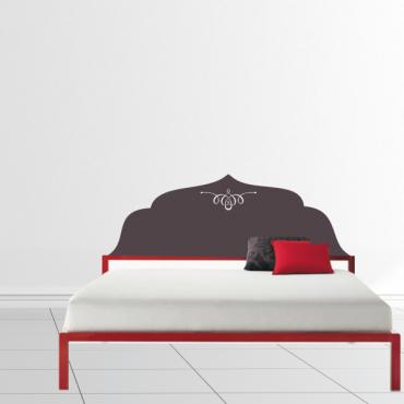 Sticker tête de lit ornement