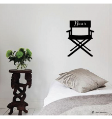 Sticker chaise cinéma