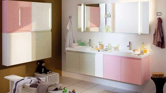 Id e d c salle de bain - Nuancier rose poudre ...