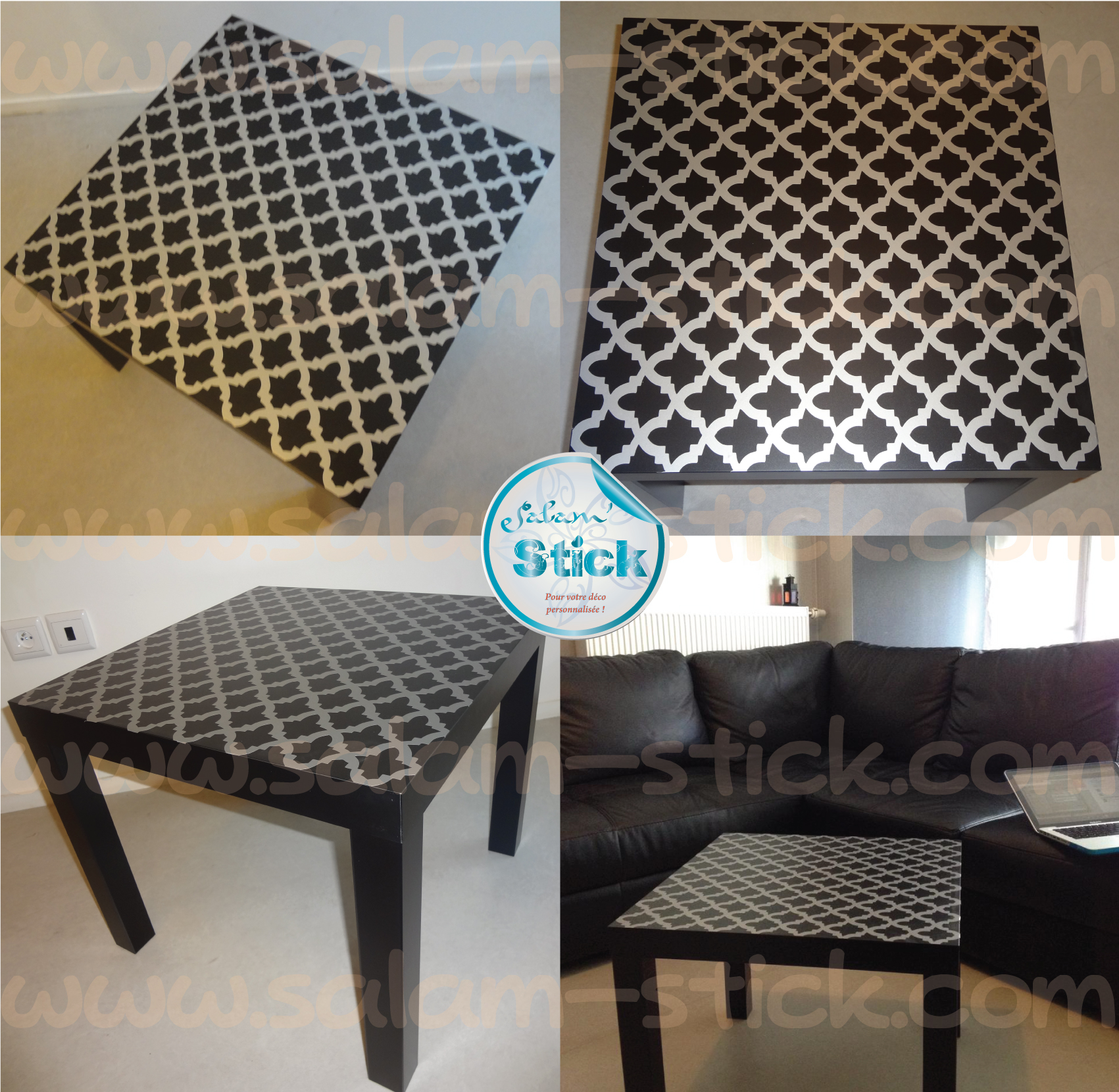 Comment customiser une table ikea - Personnaliser table basse ikea ...