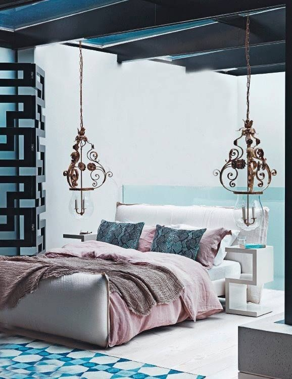chambre co oriental. Black Bedroom Furniture Sets. Home Design Ideas