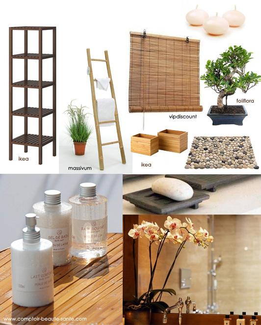 Ma salle de bain spa for Plante bambou salle de bain