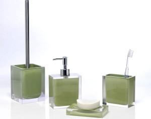 Stickers nature une salle de bain au vert for Accessoire salle de bain 3 suisses