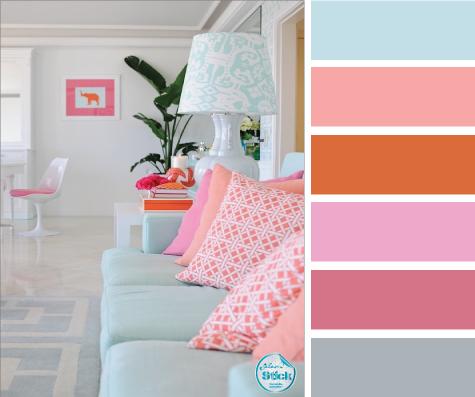 Nuancier aux couleurs pastel - Nuancier peinture couleur pastel ...
