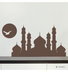 Sticker mosquée soleil