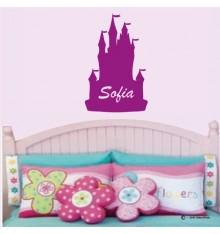 Sticker château princesse