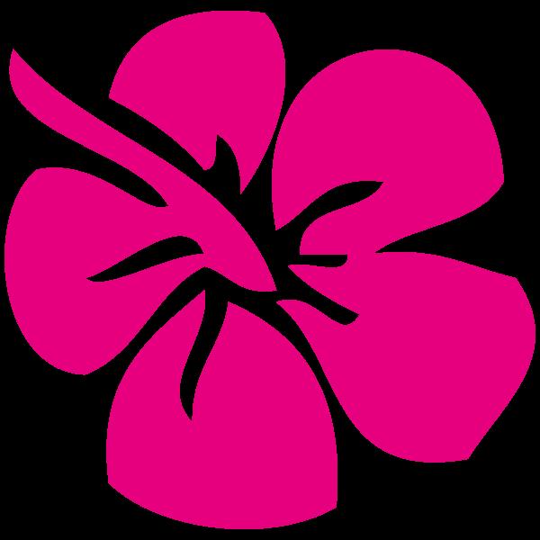 sticker fleur hibiscus
