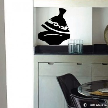 Sticker tagine ouvert