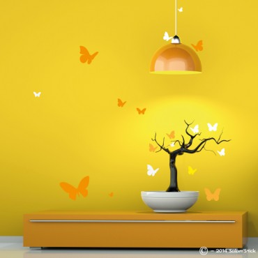 Sticker lot papillon