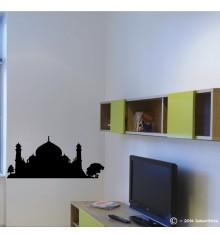 Sticker mosquée arbre