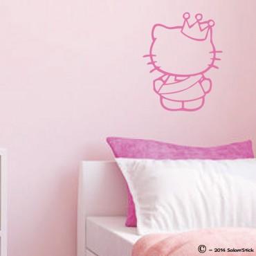 Sticker Miss Kitty