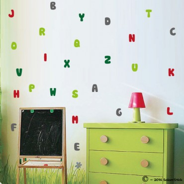 Sticker alphabet Français