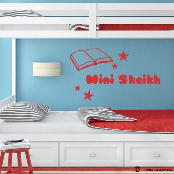 Sticker Mini Sheikh Enfant