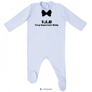 Pyjama bio personnalisable Very Important Baby