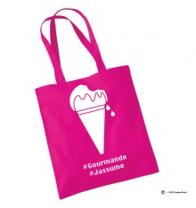 Tote bag gourmande glace
