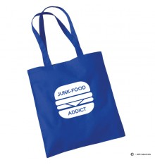 Tote bag junk food addict