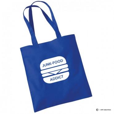 Tote bag junk food addict