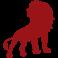 Sticker lion