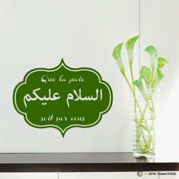 Sticker Salam aleykoum