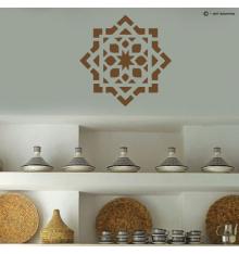 Sticker motif oriental