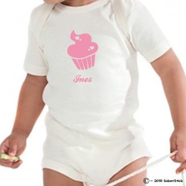 Body personnalisé cupcake