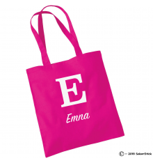 Shopping bag monogramme