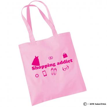 Shopping bag shopping addict