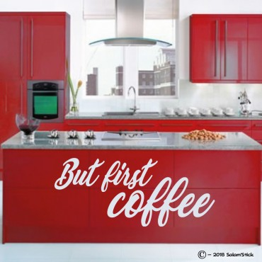 Sticker But first coffee