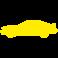 Sticker voiture sportive