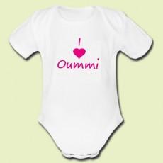 Body personnalisé I love Oummi