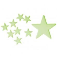 Étoiles phosphorescentes adhésives