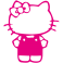 Sticker Kitty salopette