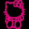Sticker Kitty assis