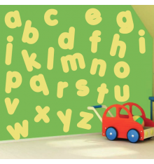 Stickers alphabet minuscule