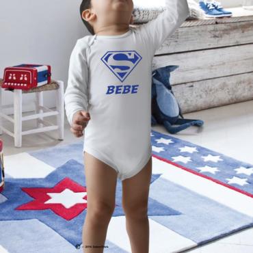 Body personnalisé SUPER BEBE