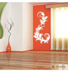 Sticker arabesque florale